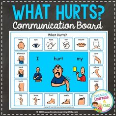 what hurts communication board